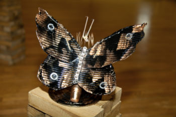 Coolest Design – Metal Butterfly by Elizabeth from All Hallows